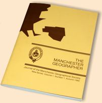 Cover of The Manchester Geographer